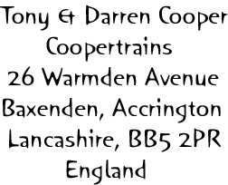 Coopertrains Address