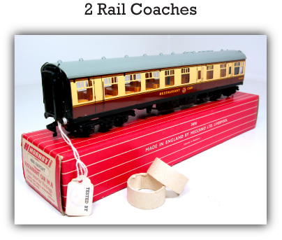 Hornby Dublo 2 Rail Coaches