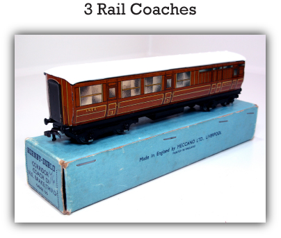 Hornby Dublo 3 Rail Coaches
