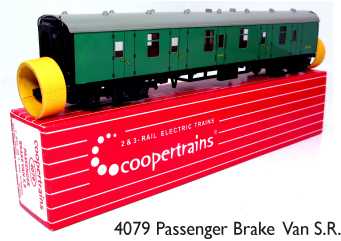 Coopertrains 4079 Passenger Brake Van SR
