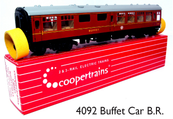 Coopertrains 4092 Buffet Car BR