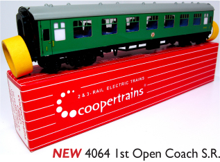 Coopertrains 4064 1st Open Coach SR