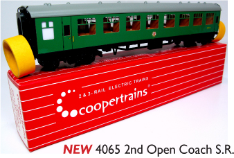 Coopertrains 4065 2nd Open Coach SR