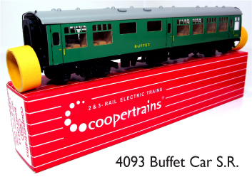 Coopertrains 4093 Buffet Car SR