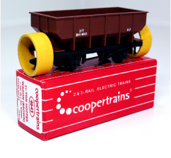 Coopertrains 4643 Hopper Wagon Brown